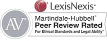 Peer Review Rated on Avvo